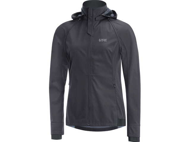 GORE WEAR R3 Gore Windstopper Zip-Off Jacket Women, terra grey/black